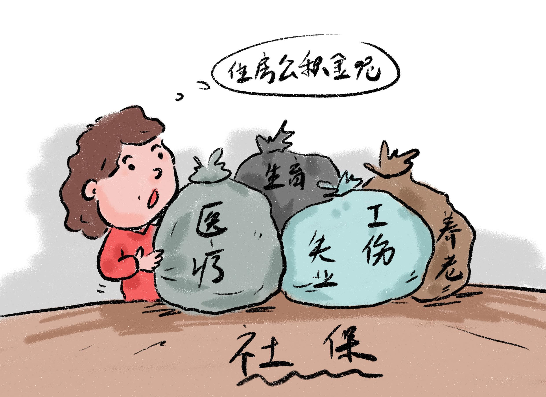 自己交上海社保每月多少钱