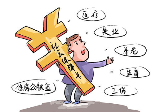 杭州个人交社保最低标准